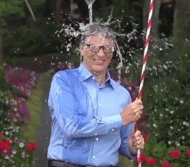 ビル・ゲイツのアイス・バケツ・チャレンジ