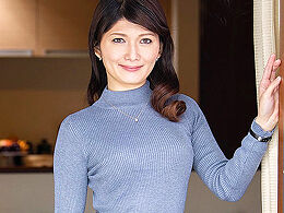 【初撮り熟女】まだイッたことがないスレンダー美ボディ妻がAVデビュー! 園崎恵理