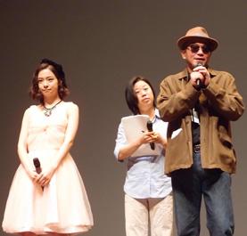 青山真治監督、木下美咲in第18回釜山国際映画祭