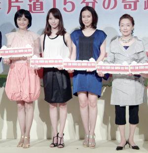 好きな関西弁フレーズは「おおきに、どうもありがとう」という中谷と戸田。cJulie Minami