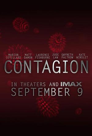 マット・デイモン主演の映画『コンテイジョン(原題)/Contagion』海外版ポスター