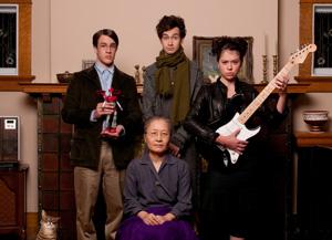 3月16日にDVD&ブルーレイ発売の映画『トイレット』より(C)2010「トイレット」フィルムパートナーズ