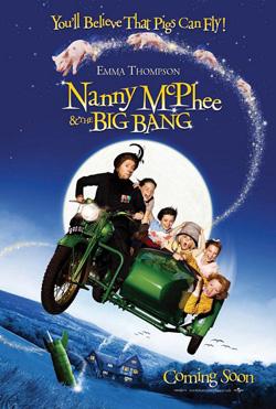 シリーズ第2弾の『ナニー・マクフィーと空飛ぶ子ブタ(仮題)』が第7位に
