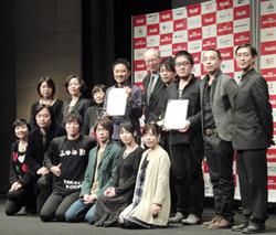 第11回東京フィルメックスのコンペティション審査員と受賞者のみなさん cJulie Minami