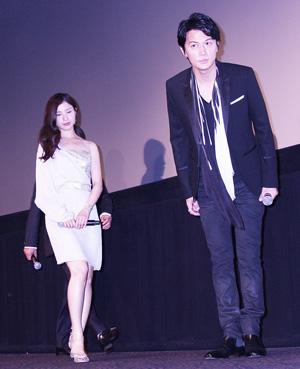 福山雅治、映画『真夏の方程式』舞台挨拶で吉高由里子を絶賛