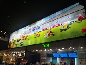 イオンシネマ浦和美園の巨大壁画