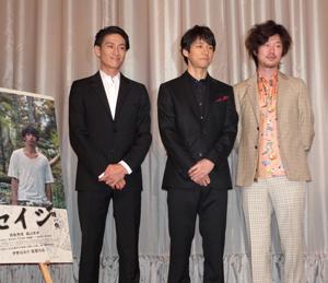 西島秀俊「違いを認めることがやさしさに繋がる」/映画『セイジー陸の魚ー』初日舞台挨拶