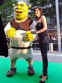 12月18日公開の映画『シュレック フォーエバー』でヒロイン・フィオナ姫の声を務めた藤原紀香