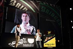 聖地・鈴鹿でセナへの想いと映画の魅力を語る佐藤琢磨選手
