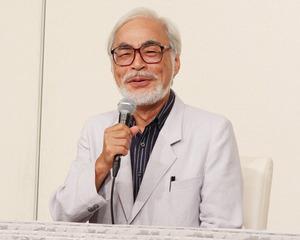 宮崎駿監督、引退会見にて