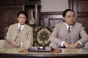 玉木(左)と香川、c「聯合艦隊司令長官