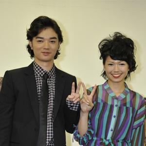 日本人初のマルチェロ・マストロヤンニ賞をW受賞した染谷(左)、二階堂