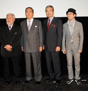石原慎太郎『青木ヶ原』舞台挨拶で、映画監督への転身計画を明かす