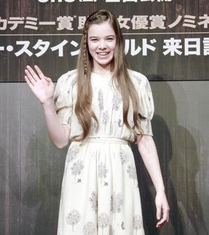 目標はダイアン・レインのような女優というヘイリーcJulie Minami