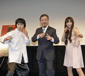 ブルース・リー実弟が映画『李小龍 マイブラザー』をPR、中川翔子は悶絶?!