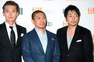 松本人志監督、大森南朋、渡部篤郎inトロント国際映画祭