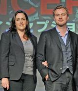 夫婦善哉、エマ・トーマスプロデューサー(左)とクリストファー・ノーラン監督(右)