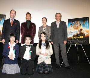 中田英寿「勇気ある冒険」を語る、被災地の子どもたちに映画『タンタンの冒険』鑑賞券をクリスマスプレゼント