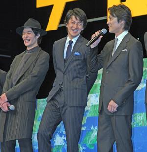 岡田将生、小栗旬に「すごく面白かった」とメール!/映画『宇宙兄弟』完成披露試写会舞台あいさつ