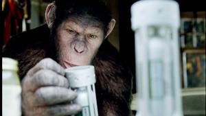 完成度の高さから絶賛されている、映画『猿の惑星:創世記(ジェネシス)』がV2首位c2011 TWENTIETH CENTURY FOX.
