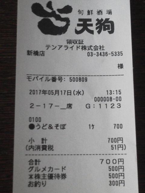 天狗1705177