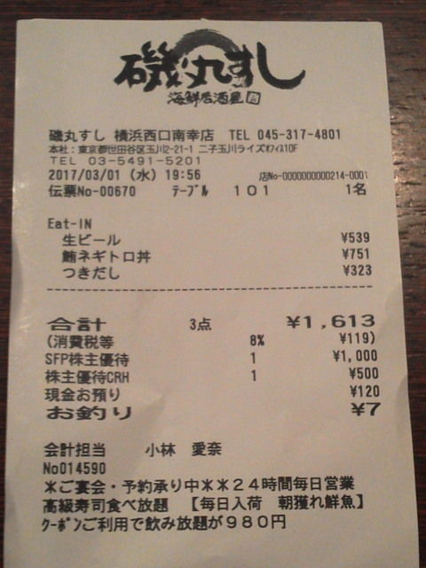 磯丸すし1702019