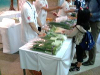 有機野菜110618