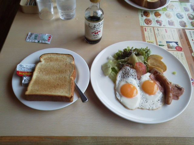 朝食160530