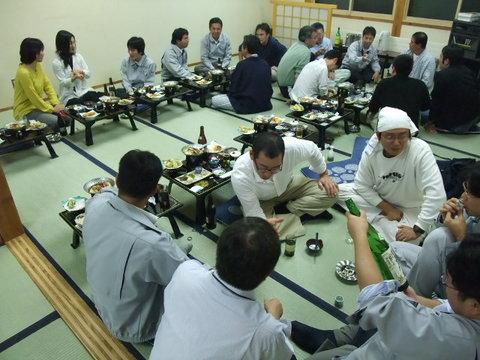 生産部2008合宿宴会