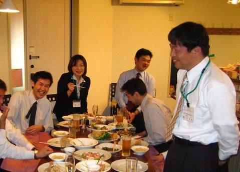 新入社員歓迎会2008
