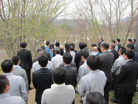 20140428+鶏霊祭(郁夫課長撮影)