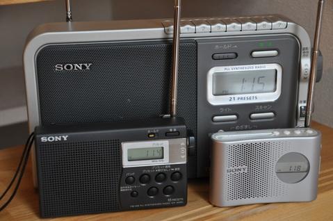 ソニーシンセサイザーラジオ