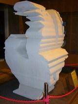 シビックセンターの鶏の像