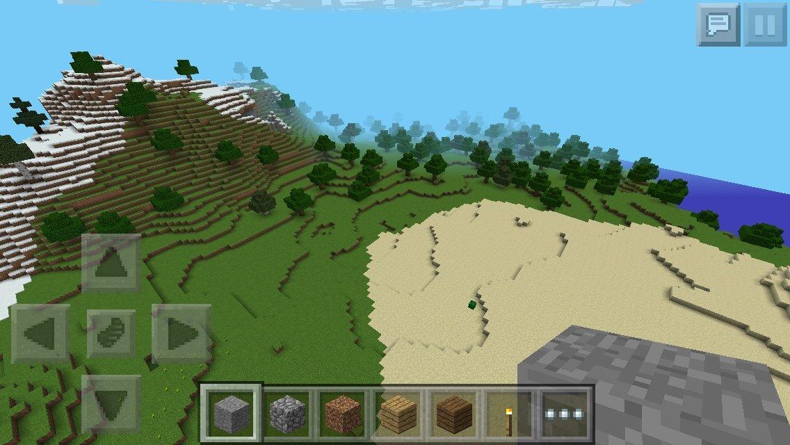 Pe 値 平地 シード マイクラ Minecraft PE