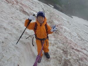 雪渓トラバース