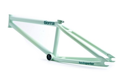 th_flybikes tierra frame flat lime