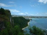恋人岬からの眺めなの。