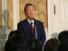小沢代表より