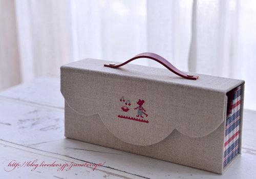 カルトナージュ&刺繍の裁縫箱Kさん01web
