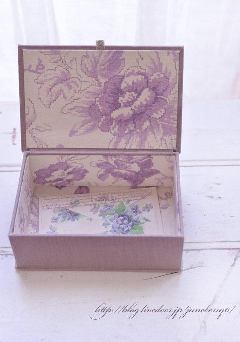 カルトナージュアンティークスタイルの箱Hさん02web