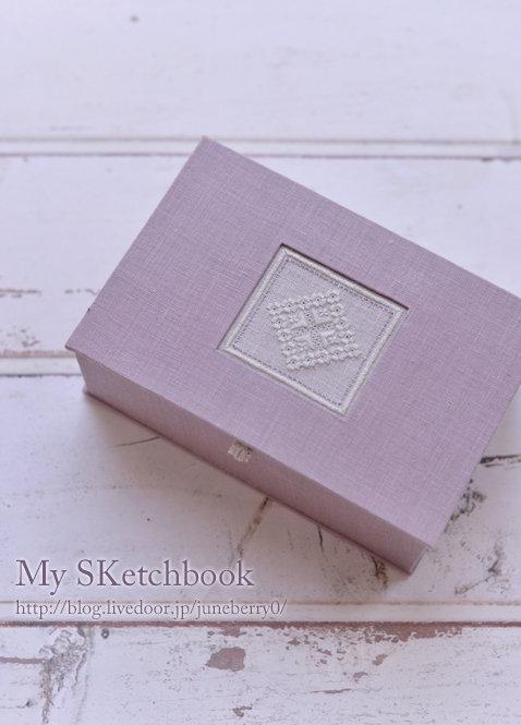 カルトナージュアンティークスタイルの箱Hさん01web