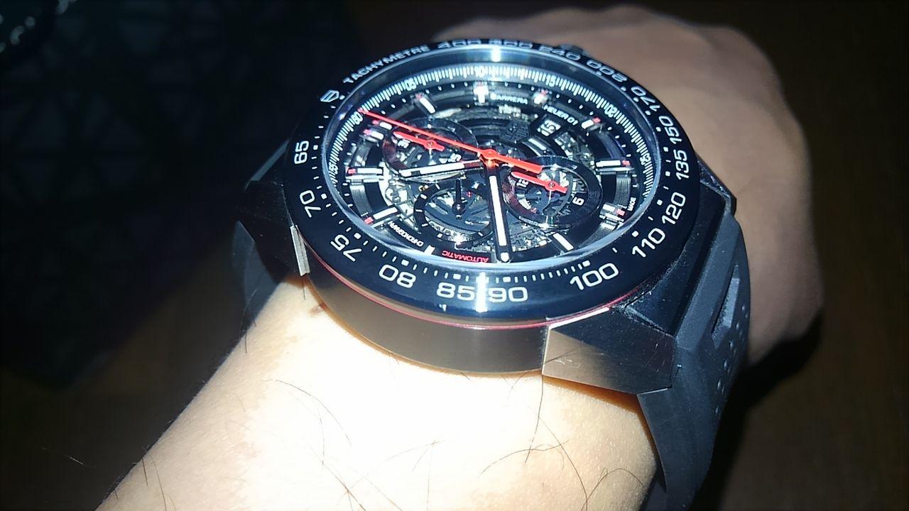 check out 00db7 8cd6e タグホイヤー カレラ ホイヤー01 : junewichの腕時計、ジーンズ ...
