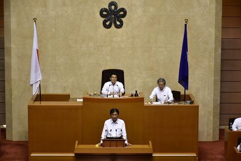 29年9月議会 小川知事