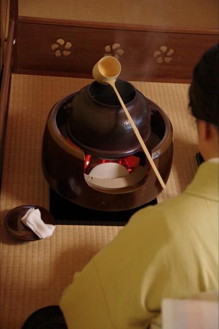 芦屋お茶まつり 茶釜
