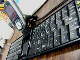 携帯電話用外付けキーボード