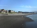 岩城の浜辺