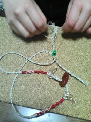 ヘンプ編み2