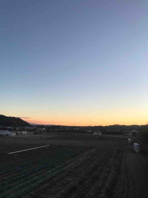 日の出前縦