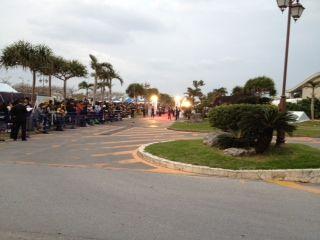8沖縄国際映画祭レッドカーペット前