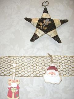 クリスマス飾り★とサンタ